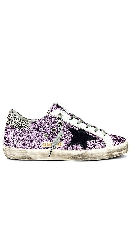 Superstar Glitter Sneaker Golden Goose $560