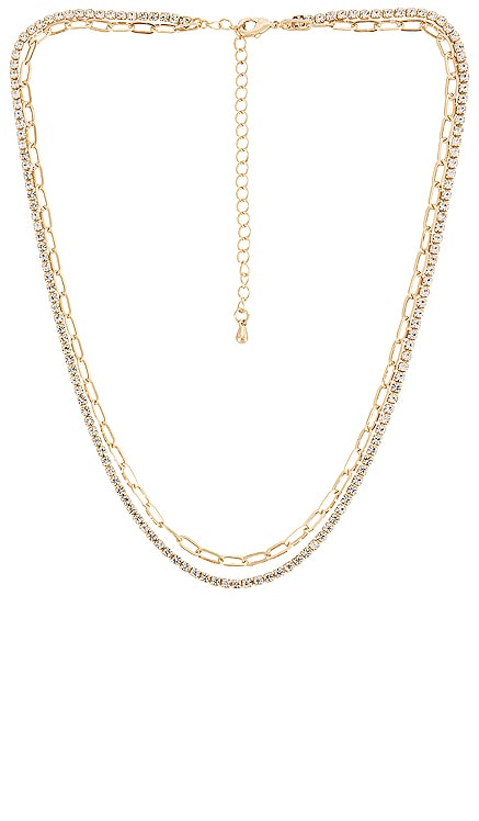 Perfect Choker Crystal Detail Necklace EIGHT by GJENMI JEWELRY $31 NEW