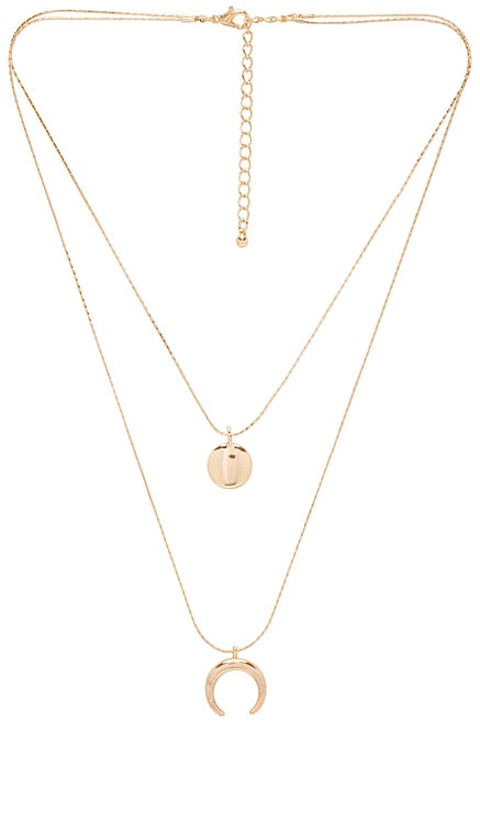 COLLIER CRESCENT FULL MOON EIGHT by GJENMI JEWELRY $53 BEST SELLER