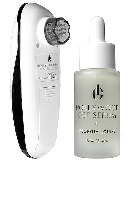 Hollywood EGF Micro-Needling + Ion Infusion Kit Pulse+GLO by Georgia Louise $395 BEST SELLER