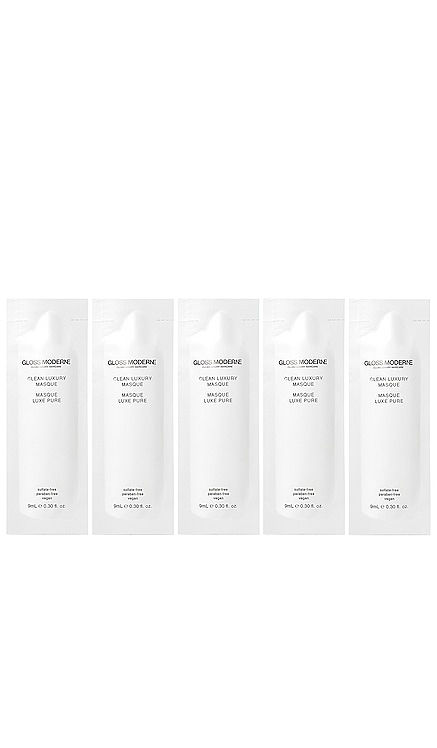 Clean Luxury Travel Masque 5 Pack GLOSS MODERNE $24 BEST SELLER