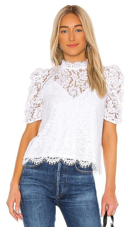 Regina Lace Blouse Generation Love $188 BEST SELLER