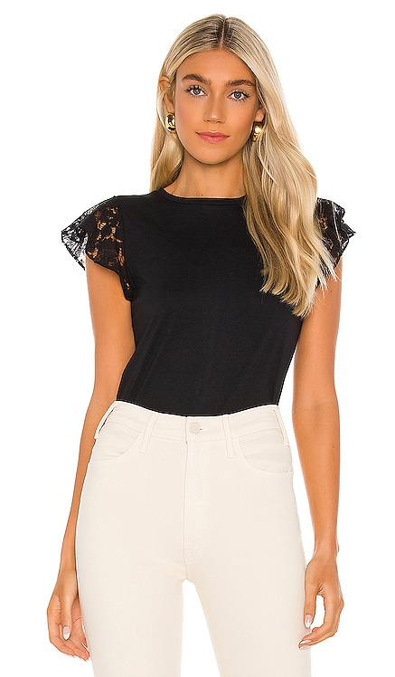 Prim Lace Ruffle Top Generation Love $115 NEW