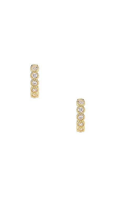 Madison Shimmer Huggie Earrings gorjana $45 BEST SELLER
