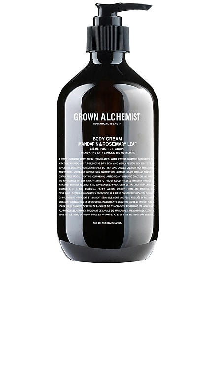 Body Cream Grown Alchemist $67 BEST SELLER