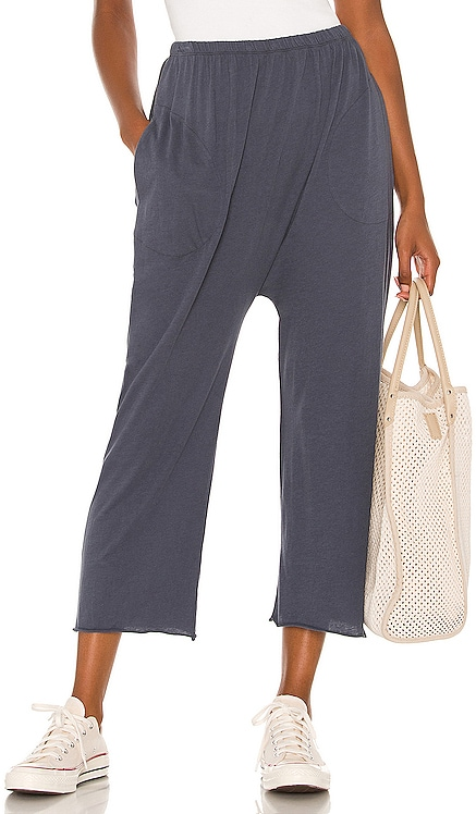 The Lounge Crop Pant The Great $110
