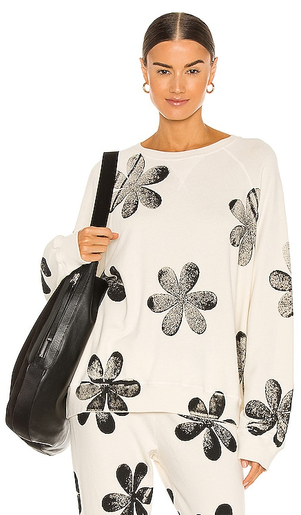 The Slouch Daisy Stamp Sweatshirt The Great $195 BEST SELLER