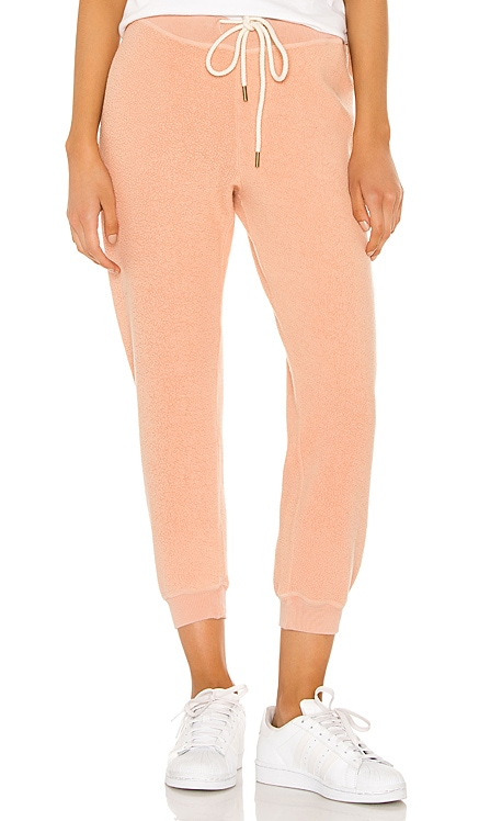 The Sherpa Cropped Sweatpant The Great $165