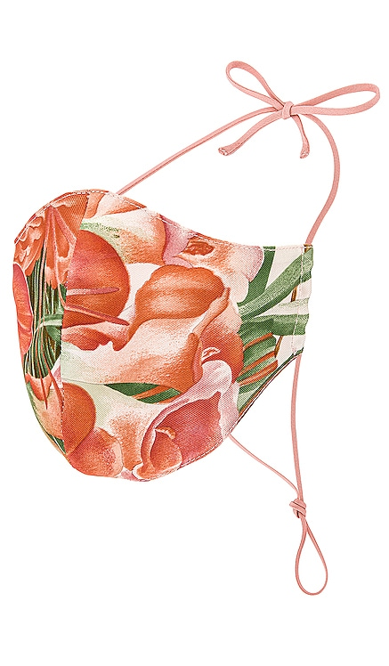 Silk Floral Mask GRLFRND $128 (FINAL SALE) NEW