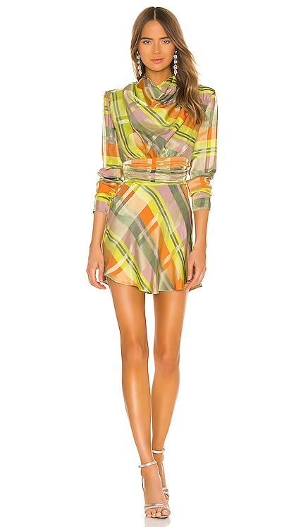 Leona Mini Dress GRLFRND $328 NEW ARRIVAL