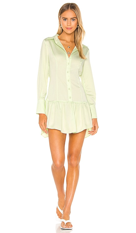 Malcolm Button Down Dress GRLFRND $248