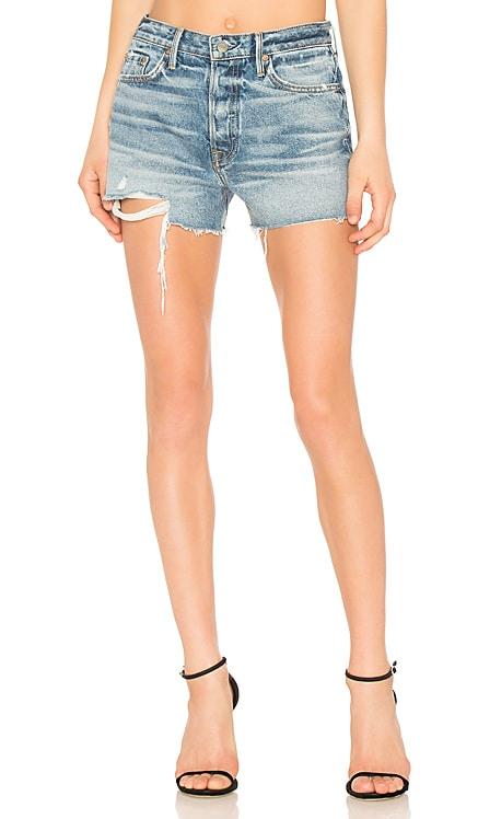 Helena High-Rise Straight Leg Cut Off Short GRLFRND $73
