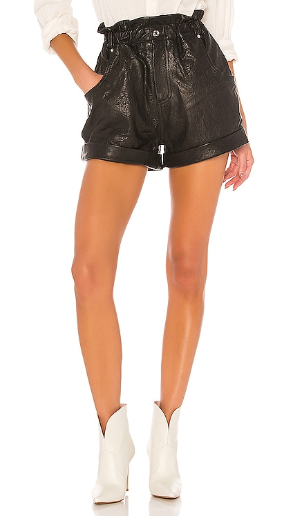 Shea Leather Shorts GRLFRND $338 BEST SELLER