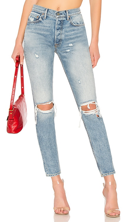 Karolina High-Rise Skinny Jean GRLFRND $174