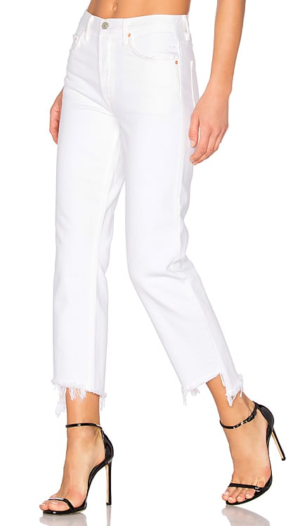 Helena High-Rise Straight Crop Jean GRLFRND $228