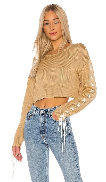 Ronnie Cropped Sweater GRLFRND $123