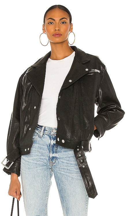 Arizona Moto Jacket GRLFRND $798 NEW