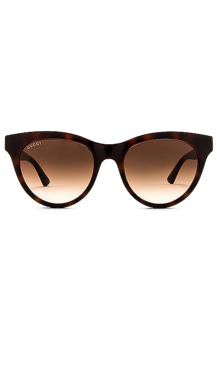 Round Cateye Acetate Gucci $275 NEW