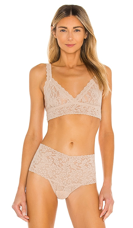 Signature Lace Crossover Bralette Hanky Panky $46 BEST SELLER