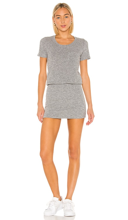 Granite Thermal Pocket T Dress MONROW $158