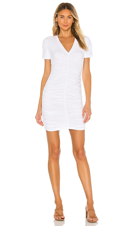 Shirred V Dress MONROW $149