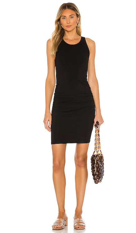 Narrow Tank Shirred Dress MONROW $146 BEST SELLER