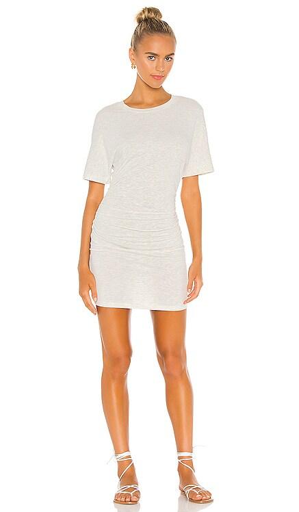 Shirred Waist Dress MONROW $135 NEW