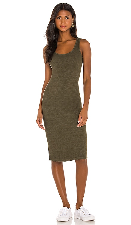 Supersoft Rib Tank Dress MONROW $155 BEST SELLER