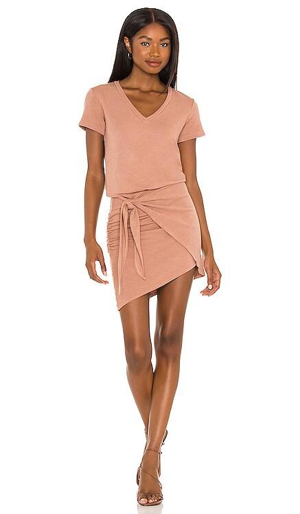 X REVOLVE Supersoft V Dress MONROW $167 NEW