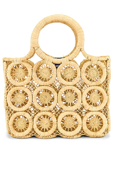 Small Medallion Tote Hat Attack $104