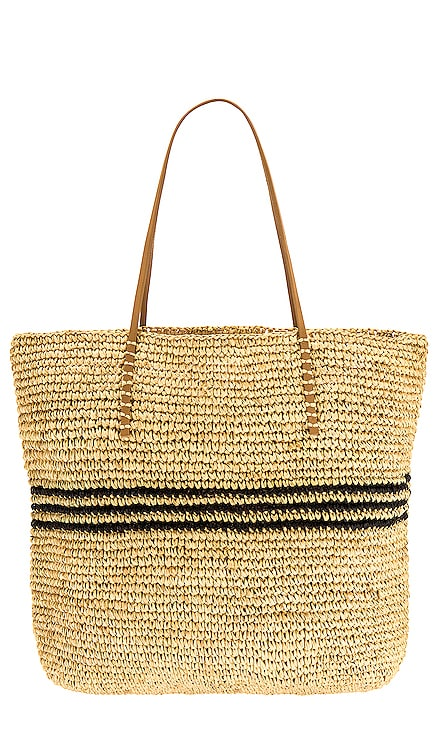 Luxe Stripe Tote Hat Attack $148 BEST SELLER