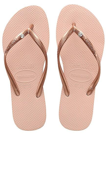 Slim Crystal Glamour Sandal Havaianas $36