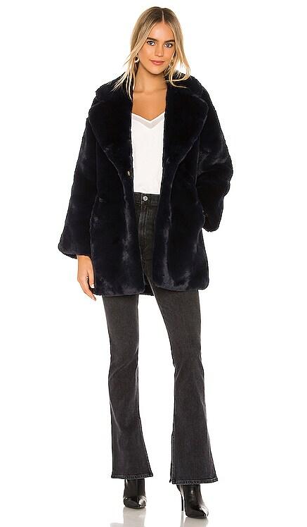 Posey Faux Fur Coat HEARTLOOM $66