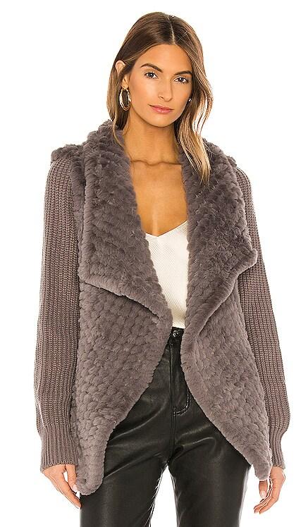 Tilly Faux Fur Coat HEARTLOOM $158