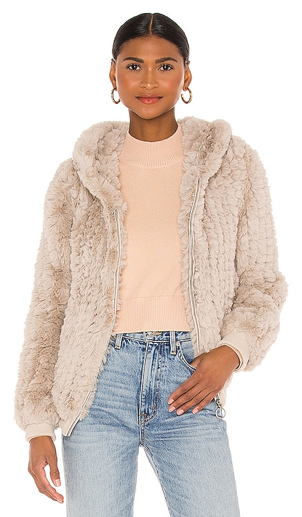 Peri Faux Fur Jacket HEARTLOOM $169 BEST SELLER