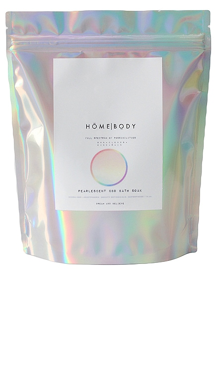 Full Spectrum Of Possibilities Pearlescent CBD Bath Soak HOMEBODY $42 BEST SELLER