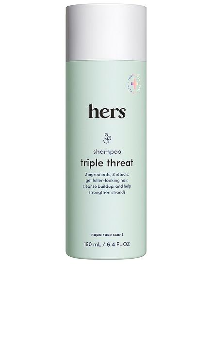 Triple Threat Shampoo hers $14 NEW