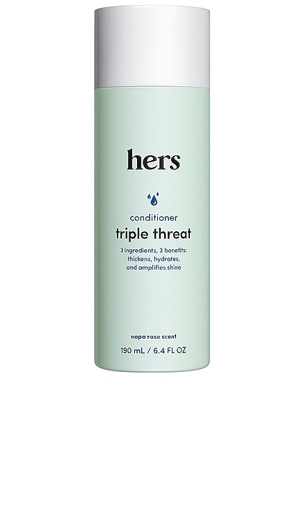 Triple Threat Conditioner hers $14 NEW