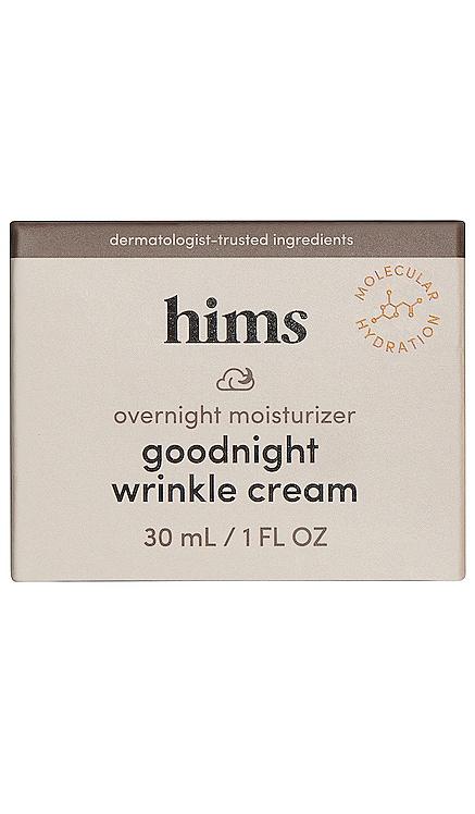 Goodnight Wrinkle Cream hims $16 NEW