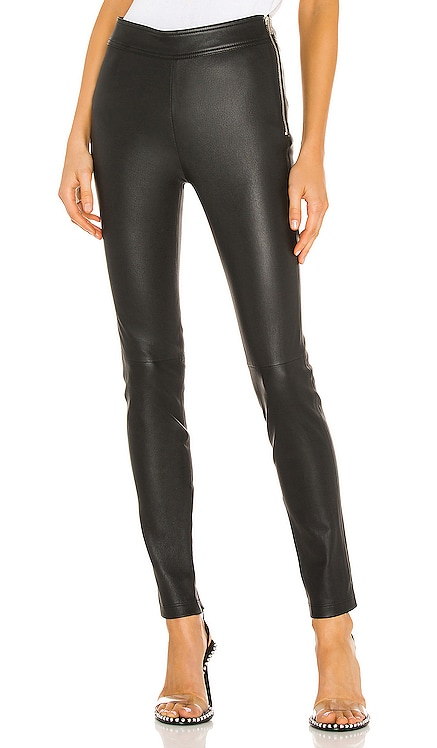 Zip Leather Legging Helmut Lang $995 NEW ARRIVAL