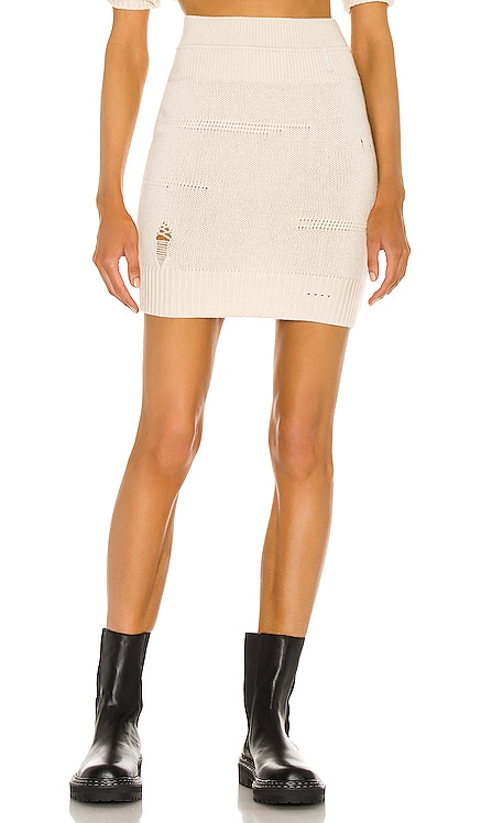 Distressed Skirt Helmut Lang $375