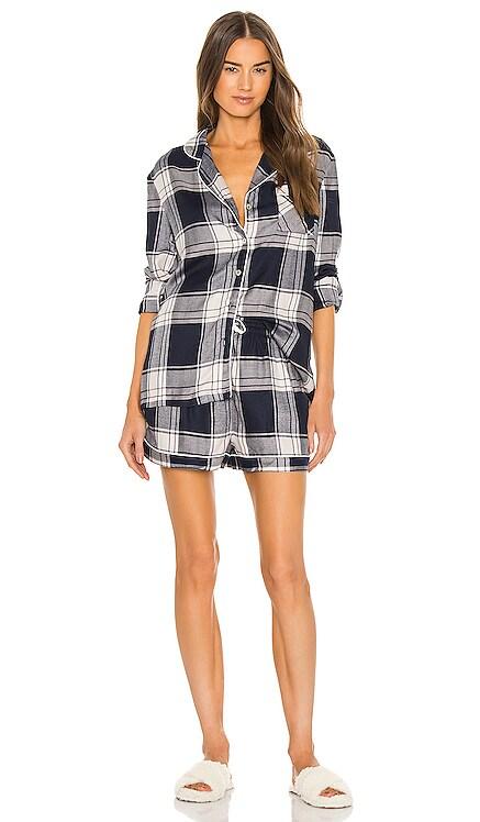 Ardelia Long Sleeve Short PJ Set homebodii $130
