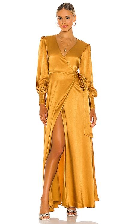 x REVOLVE Maxi Wrap Dress House of Harlow 1960 $268