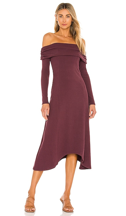 x REVOLVE Off Shoulder Long Midi Dress House of Harlow 1960 $178