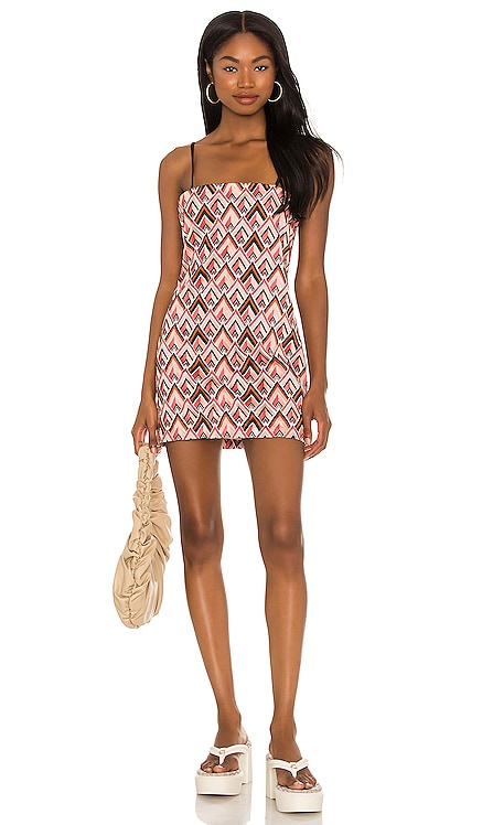 x Sofia Richie Kristian Embroidered Dress House of Harlow 1960 $218 NEW
