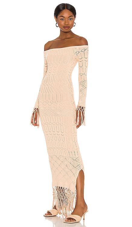 x Sofia Richie Rose Dress House of Harlow 1960 $228 NEW