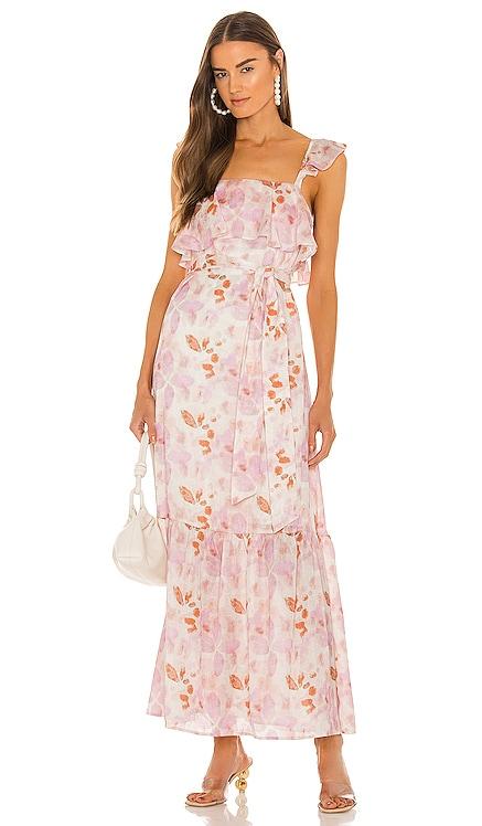 x Sofia Richie Evelyne Maxi Dress House of Harlow 1960 $248 NEW