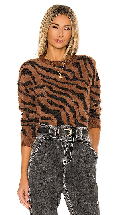 x REVOLVE Benji Tiger Sweater House of Harlow 1960 $158 NEW