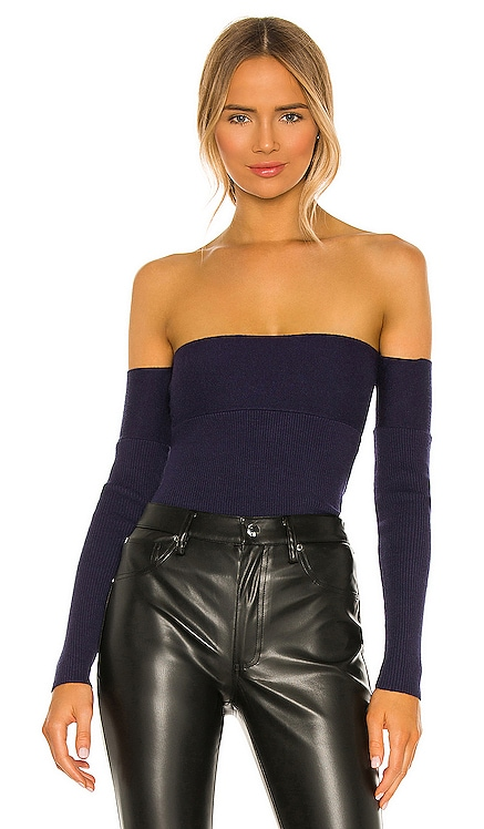 Catarina Off Shoulder Sweater House of Harlow 1960 $158 NEW
