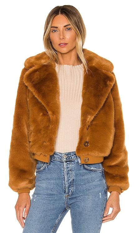 X REVOLVE Kalida Faux Fur Jacket House of Harlow 1960 $72 (FINAL SALE)